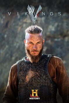 Travis Fimmel as Ragnar Lothbrok in Vikings Lagertha, Ragnar Lothbrok Vikings, Ragnar Lothbrok Quotes, Vikings Show, Vikings Tv Series, Viking Warrior, Ver Series Online Gratis, King Ragnar, Costumes