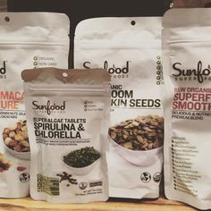 """Alice's QuietMind Bookstore now carries Sunfood Super Foods all are #organic #nongmo #raw #vegan #glutenfree #kosher  SuperFood Smoothie Mix  Mango…"""