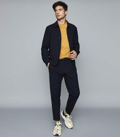 Minimal Classic Style for Men. Business Casual Men, Men Casual, Casual Styles, Smart Casual, Urban Outfits, Casual Outfits, Formal Outfits, Rock Outfits, Emo Outfits