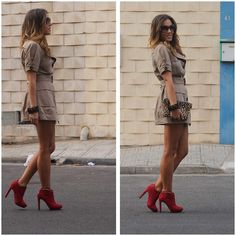 """""""Trench"""" Dress (by TAMARA M) http://lookbook.nu/look/4058068-Trench-Dress"""