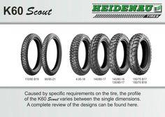 Heidenau K 60 Scout Tires