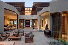 Casa de lujo en Paradise Valley, Arizona por Swaback Partners y David Michael Miller Associates http://www.arquitexs.com/2014/02/casa-de-lujo-paradise-valley-arizona.html