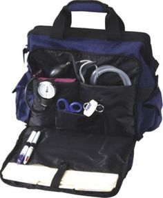 Nurse Mates Bag Unisex Ultimate Nursing Medical Professional Organizer Blue New #NurseMates #BriefcaseAttache