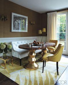 dining rooms, breakfast rooms, interior, elle decor, dine room