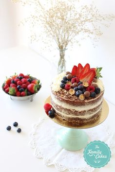 The Family Cakes: Naked Cakes !!