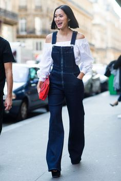 The Best Street Style from Paris Fashion Week Spring 2016