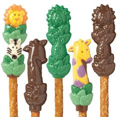 Jungle Pals Pretzel Molds
