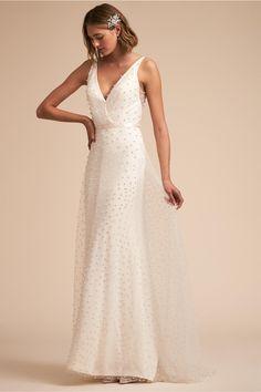 BHLDN Monroe Gown Ivory in Bride | BHLDN