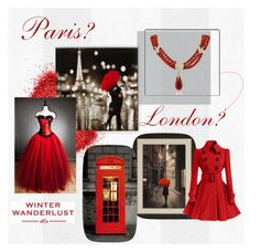 """""""Paris or London? Winter Wanderlust"""" by rarebeauty-etsy ❤ liked on Polyvore featuring Home Decorators Collection, 1Wall, American Eagle Outfitters, women's clothing, women's fashion, women, female, woman, misses and juniors"""