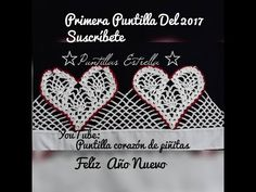 puntilla #80 corazones - YouTube