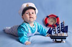 фотосессия детей в морском стиле