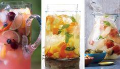 6 receptů na osvěžující ovocnou Sangrii Voss Bottle, Water Bottle, Sangria, Fresh Rolls, Sushi, Smoothie, Vegan, Vegetables, Drinks