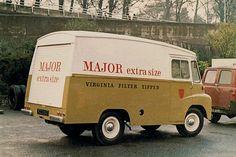 Major Van | Flickr - Photo Sharing! Commercial Van, Commercial Vehicle, Vintage Trucks, Old Trucks, Old Lorries, Van Car, Old Commercials, Truck Design, Cars And Motorcycles