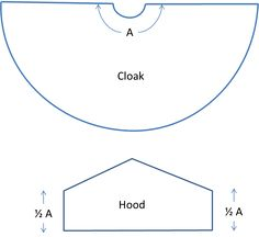 Hobbit Cloak Instructions 1