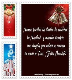 Tarjetas Con Mensajes De Navidad Para Mi Amor Amor De Mi Vida