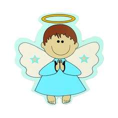 Angel para bautizo
