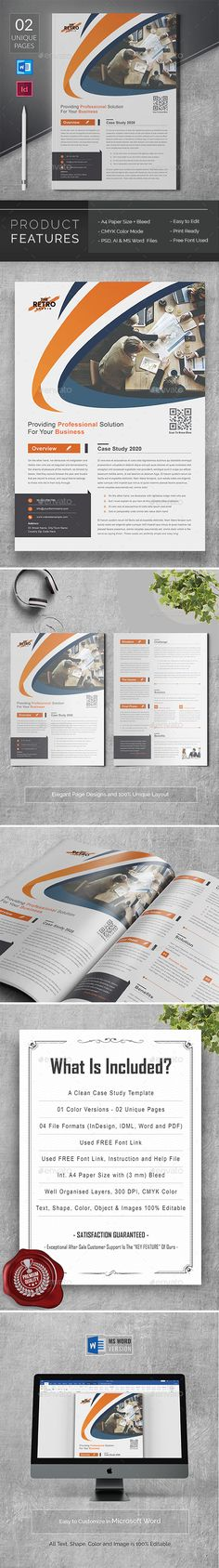 Buy Case Study by DesignDevisers on GraphicRiver. Case Study Template This Modern and Clean Caste Study Template will give you a sample structure for your case study. Case Study Template, 3d Landscape, Understanding Yourself, Brochure Template, Problem Solving, Content Marketing, Challenges, Templates, Gain