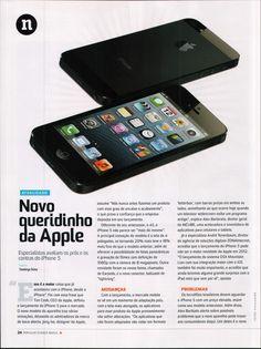 Título: Novo queridinho da Apple I;  Veículo: Popular Science Brasil;  Data: 03/12/2012  Cliente: Incube.