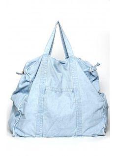 69 Big Denim Bag - Light Wash