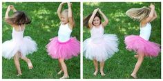 no-sew tutu tutorial - I've made a tulle one and it is super easy . . . now to try a fabric one