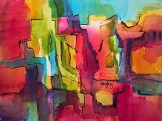 CagleyArt: Day 16 - 30 Paintings - 30 Days, January, 2015