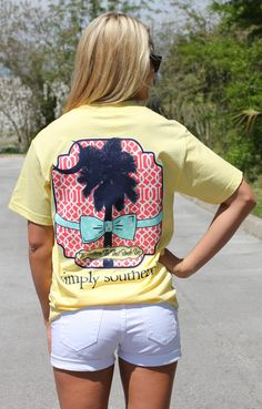 A Cut Above has southern T-shirts that are affordable, wash well, and ship free. Shop the Southern Darlin Collection, our trendy southern T-shirt brand. Simply Southern T Shirts, Southern Outfits, Country Girls Outfits, Preppy Southern, Southern Prep, Southern Marsh, Southern Tide, Southern Belle, Preppy Girl