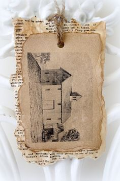 Rustic Barn Wedding Tag by CountryChiq on Etsy, $3.50