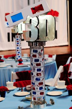 Cool ideas if do a movie party 3D