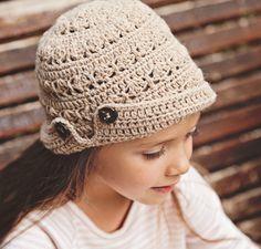 Mon Petit Violon   What's your favorite hat style?  - hat for your little girl ----  Hut / Mütze für die kleine Lady