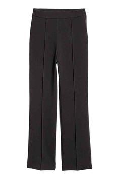 Flared broek - Zwart - DAMES   H&M NL 1