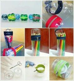 DIY soda/water bottle cases