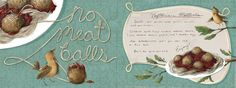 No-meatballs by Jennifer Bell - They Draw & Cook