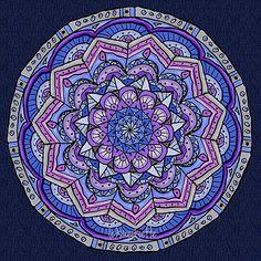 Mandala Art  Spiritual Art  Meditative Art by SacredCircleMandalas