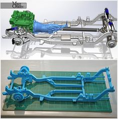 Something we liked from Instagram! Almost finished with the chassis perimeter now to figure out how and what I am going to use for the coilovers. #mikebuildsadatsun #mikeprintsadatsun #mikebuysa3dprinter #datsun #datsun620 #nissan #custom #chassis #customchassis #design #engineering #mechanicalengineering #solidworks #cad #render #3d #3dprinter #3dprinting #suspension #frame #minitruck #cantilever #bellcrank #jdm #drift by 3d_magic_mike check us out: http://bit.ly/1KyLetq
