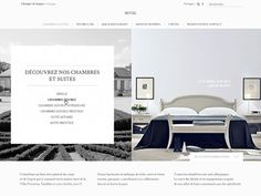Luxury hotel designed by Ulysse. Connect with them on Dribbble; Graphic Portfolio, Portfolio Design, Luxury Hotel Design, Web Gallery, Hotel Website, Website Designs, Ui Design, Hospitality, Condo