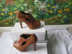 Dana Davis Made in Italy Women Booties Sandal Shoes SZ 10M New #DanaDavis #OpenToe