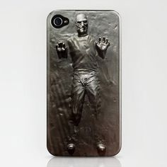 Han Solo encased iPhone case