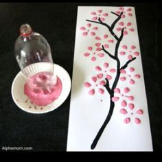 "Such an easy ""craft"" project!  (Is it puffy paint or regular paint?  I wonder...no info with pic)"