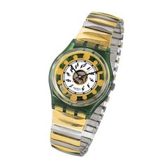 Swatch Green-Shine-Large-Strap AGG131 - 1994 Spring Summer Collection