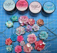 craftliners: Bloemen kleuren met de Magicals