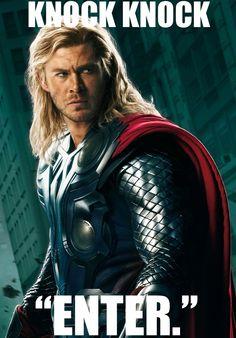 Anti-joke Thor!