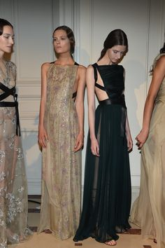Valentino (backstage) - Fall 2014 Couture