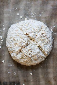 Irish oatmeal soda bread
