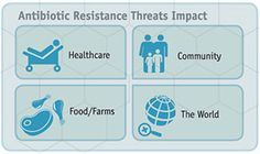 Antibiotic resistance, when bacteria don't respond to the drugs designed to kill the, threaten our healthcare, community, and food. CDC's Solutions Initiative aims to combat antibiotic-resistance bacteria.