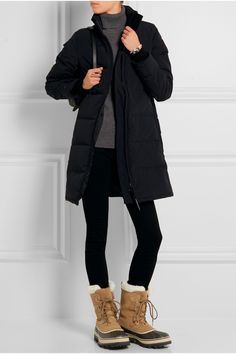Sorel | Caribou waterproof suede and rubber boots | NET-A-PORTER.COM