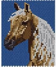 beaded horse patterns - - Yahoo Image Search Results