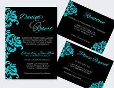 I love these invitations... DIY Wedding Invitation Template  Instant by ElegantPrintables, $20.00