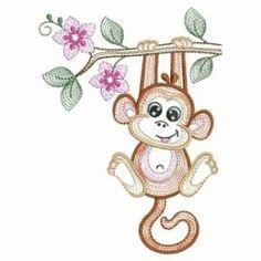 Rippled Little Monkey