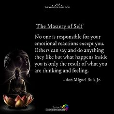 The Mastery Of Self - themindsjournal. Healing Quotes, Spiritual Quotes, Wisdom Quotes, Quotes To Live By, Positive Quotes, Life Quotes, Spiritual Psychology, Healing Scriptures, Heart Quotes
