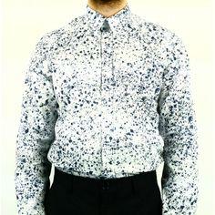 Tache blanche veste cuir